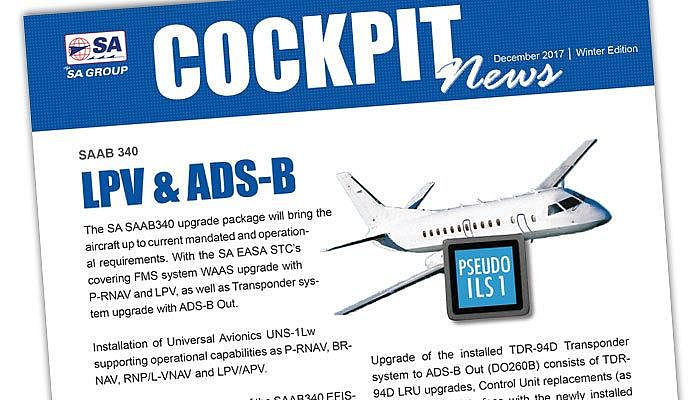 LPV; ADS-B Out; Upgrade; Laser Wire Marking; STC; PWI LED; Trig Avionics