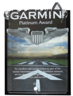 Garmin Platinum Award