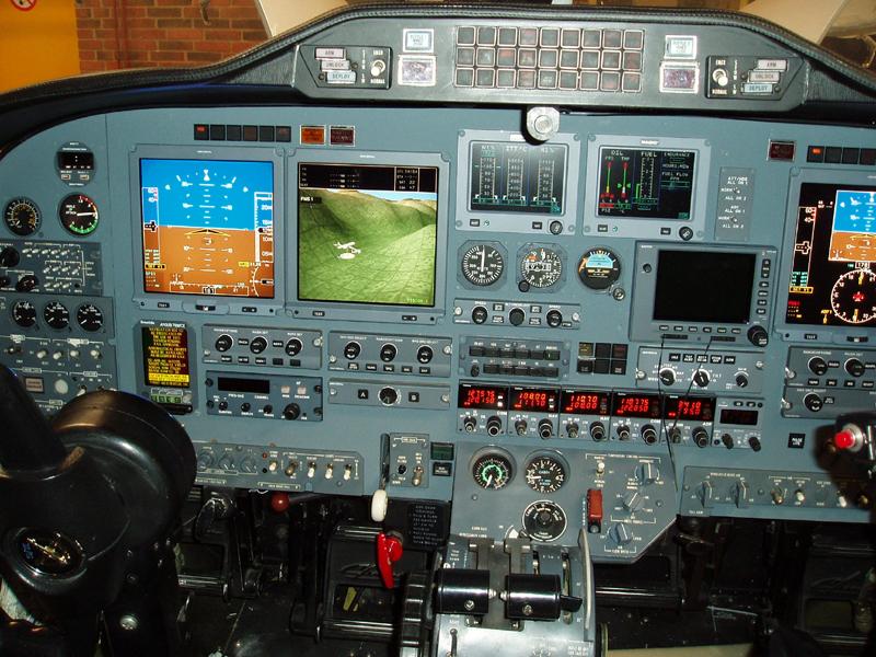 Efis Cockpit Panel Upgrade Cessna Citation Ii