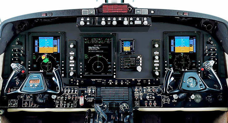 Collins Aerospace Pro Line 21 Nextgen Airspace on King Air -