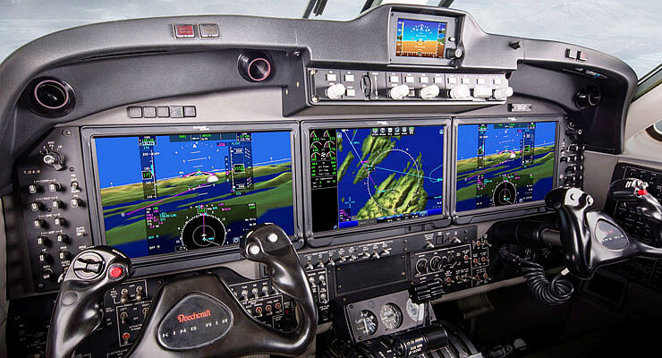 Collins Aerospace Pro Line II to Fusion on King Air -