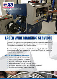 Laser Wire Marking Services -